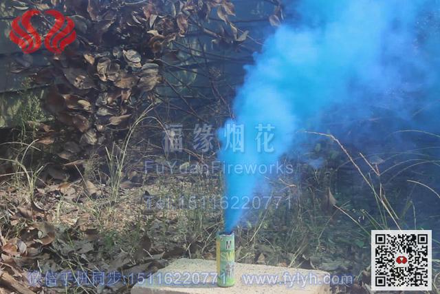 蓝色真人CS野战烟雾弹
